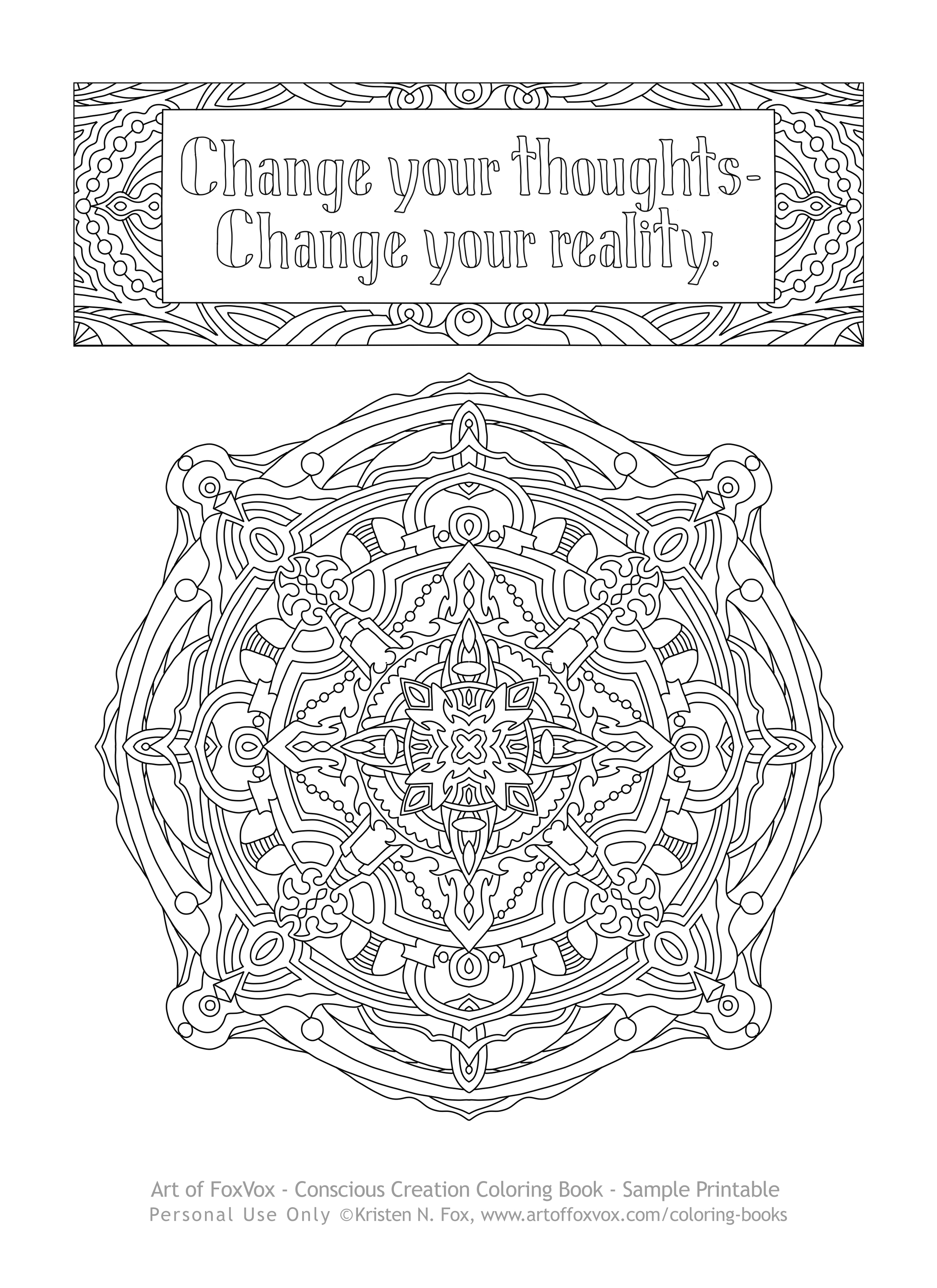 coloring book u2013 conscious creation